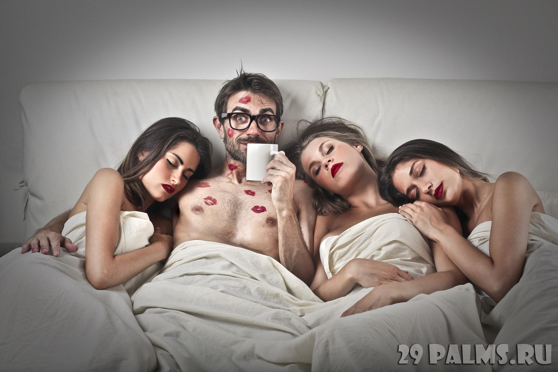 Секс втроем с молодой, Секс втроем видео 6 фотография