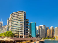View of Sydney at Circular Quay, Australia. Фото Leonid_Andronov - Depositphotos