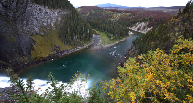 Клуб путешествий Павла Аксенова. Австралия. Река Муррей. Murray River from side of Kinuseo Fall in Alberta. Фото pictureguy - Depositphotos