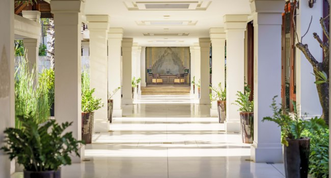 Клуб путешествий Павла Аксенова. Камбоджа. Anantara Angkor Resort. Lobby Welcome
