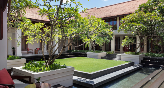 Клуб путешествий Павла Аксенова. Камбоджа. Anantara Angkor Resort. Courtyard