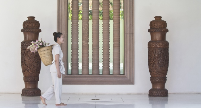 Клуб путешествий Павла Аксенова. Камбоджа. Anantara Angkor Resort. Spa therapist