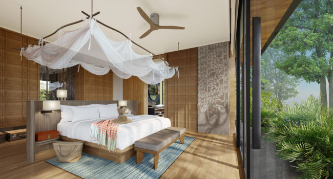 Клуб путешествий Павла Аксенова. Камбоджа. Six Senses Krabey Island. Villa Bedroom