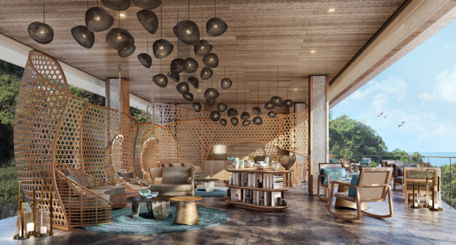 Клуб путешествий Павла Аксенова. Камбоджа. Six Senses Krabey Island. Lobby