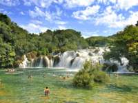 Клуб путешествий Павла Аксенова. Хорватия. Krka National Park Croatia waterfall. Фото pounais24 - Depositphotos