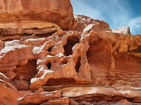 Синай. Цветной каньон. Canyon in Egypt. Egypt, the mountains of the Sinai desert, Colored Canyon. Фото chingis61 - Depositphotos