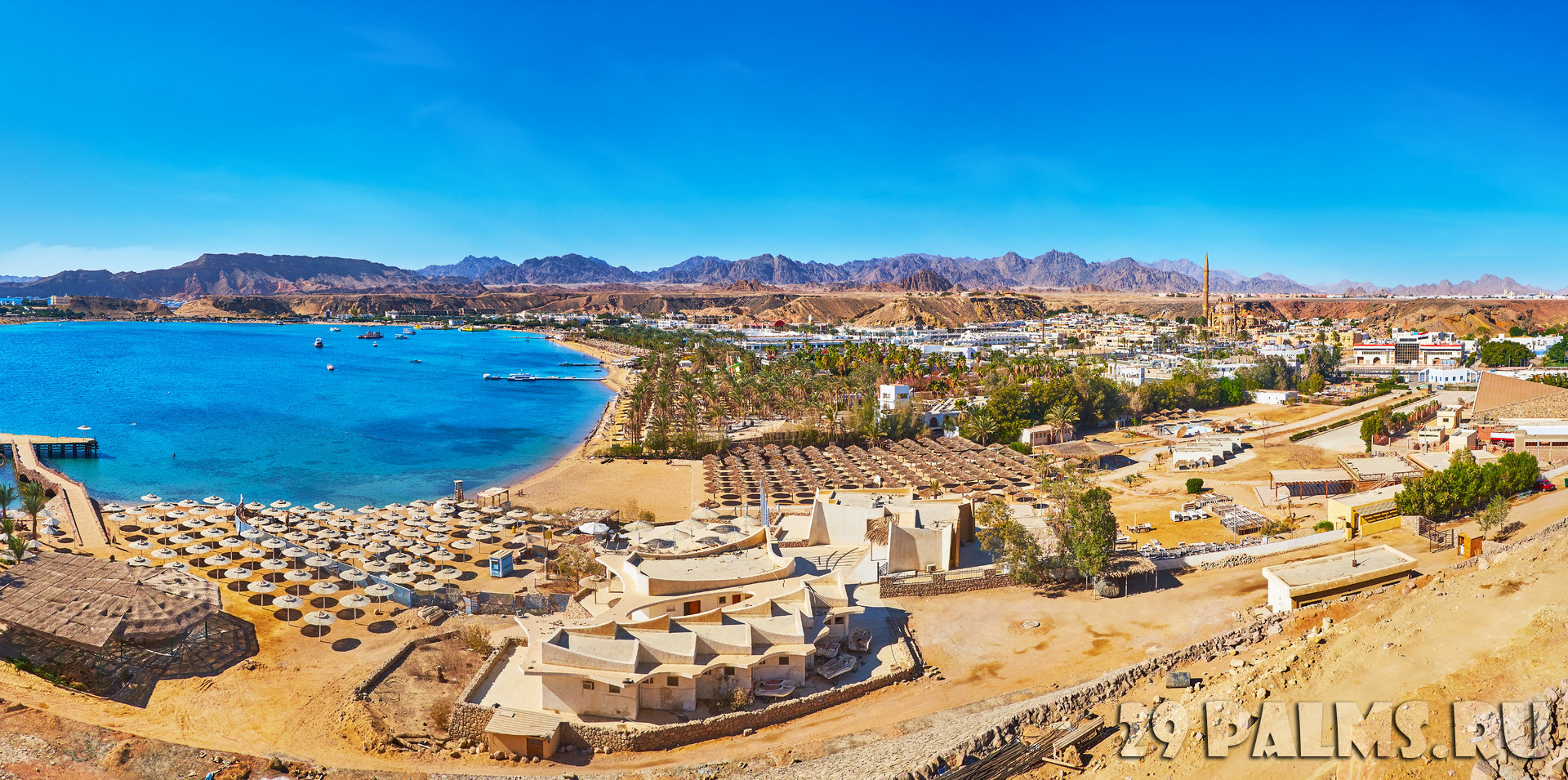 Клуб путешествий Павла Аксенова. Египет. Синай. Шарм-эль-Шейх. Aerial view of El Maya in Sharm El Sheikh, Egypt. Фото efesenko - Depositphotos