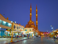Египет. Синай. Курорт Шарм-эль-Шейх. Evening in Old Market of Sharm El Sheikh, Egypt. Фото efesenko - Depositphotos