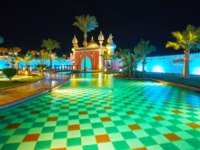 Египет. Синай. Курорт Шарм-эль-Шейх. The palace from Arabic fairy tale, Sharm El Sheikh, Egypt. Фото efesenko - Depositphotos