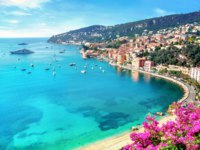 Лазурный берег Франции. Вильфранш. Luxury resort of Villefranche sur Mer. French Riviera, Cote d Azur, France. Фото Bareta - Depositphotos