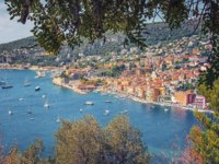 Лазурный берег Франции. Вильфранш. Villefranche sur Mer on the French RivieraФото manjik - Depositphotos