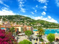 Лазурный берег Франции. Вильфранш. French reviera, view of luxury resort and bay of Villefranche-sur-Mer near Nice and Monaco. Фото LiliGraphie - Depositphotos