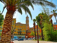 Лазурный Берег Франции. Ницца. France, Alpes Maritimes, Nice, summer day in the city centre. Фото luziana - Depositphotos