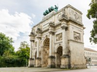 Клуб Павла Аксенова. Германия. Бавария. Мюнхен. The Siegestor (Victory Gate) in Munich (Germany, Bavaria). Фото manfredxy - Depositphotos