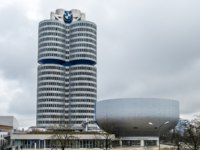 Клуб путешествий Павла Аксенова. Германия. Бавария. Мюнхен. The BMW headquarters are located in the city of Munich. Фото Lukassek - Depositphotos