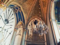Германия. Баден-Вюртемберг. Замок Гогенцоллерн. Interior of the famous Hohenzollern Castle. Фото atosan - Depositphotos