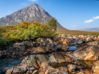 Клуб путешествий Павла Аксенова. Великобритания. Долина Глен-Мор. Buachaille Etive Mor in Autumn. Фото mountaintreks - Depositphotos