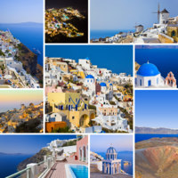 Клуб путешествий Павла Аксенова. Греция. Остров Санторини. Santorini (Greece) images. Фото Nikolai Sorokin - Depositphotos