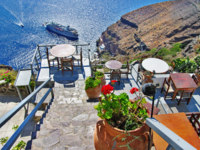 Клуб путешествий Павла Аксенова. Греция. Остров Санторини. Greek holidays - Santorini. Фото Maugli - Depositphotos