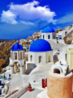 Клуб путешествий Павла Аксенова. Греция. Остров Санторини. Colors of Santorini series. Фото Maugli - Depositphotos