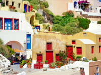Клуб путешествий Павла Аксенова. Греция. Остров Санторини. Colors of Greece - Santorini. Фото Maugli - Depositphotos