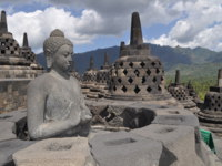 Клуб путешествий Павла Аксенова. Индонезия. Боробудур. Borobudur Temple, Budda, Java, Indonesia. Фото Dagmara Pawinska - Depositphotos