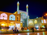 Иран. Исфахан. Мечеть Имама. View of Shah (Imam) Mosque. Naqsh-e Jahan Square in Isfahan, Iran. Фото efesenko - Depositphotos