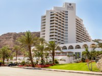 Израиль. Отели Эйлата. Isrotel Princess Hotel, Beach in gulf of Aqaba in the Red Sea in Eilat, Israel. Фото alefbet - Depositphotos