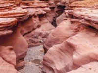 Израиль. Эйлат. Красный каньон. The Red Canyon - Guy Shani. Natural geological formation in the south of the Eilat Mountains. Фото vvvita - Deposit