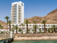 Клуб Павла Аксенова. Израиль. Отели Эйлата. Isrotel Princess Hotel, Beach in gulf of Aqaba in the Red Sea in Eilat, Israel. Фото alefbet - Depositphotos