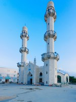 Клуб путешествий Павла Аксенова. Израиль. Хайфа. The Mahmood Mosque of the Ahmadiyya Muslim community in Kababir, Haifa. Фото RnDmS-Depositphotos