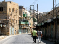 Израиль. Палестинские территории. Хеврон. Arab people in Hebron. There are 163,000 Palestinians living in Hebron. Фото lucidwaters-Depositphotos