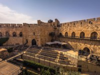 Израиль. Башня Давида в Иерусалиме. The ancient Tower of David in the old City of Jerusalem, Israel. Фото RPBMedia - Depositphotos