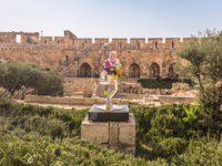 Израиль. Башня Давида в Иерусалиме. Inner courtyard of the Tower of David fortress in the old City of Jerusalem, Israel. Фото RPBMedia - Depositphotos