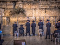 Израиль. Иерусалим. Стена Плача. TJews praying in the Western Wall in the old City of Jerusalem, Israel. Фото RPBMedia - Depositphotos