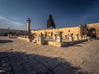 Израиль. Иерусалим. Ancient monuments near the Dome of the Rock in the old City of Jerusalem, Israel. Фото RPBMedia - Depositphotos