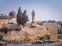 Израиль. Иерусалим. The Western Wall of the Jewish temple in the Old City of Jerusalem, Israel. Фото RPBMedia - Depositphotos