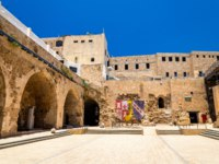 Израиль. Акко. Citadel of Acre, an Ottoman fortification in Israel. Old town of Acre is a UNESCO Heritage Site. Фото L_Andronov - Depositphotos