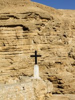 Израиль. Монастырь святого Георгия. The monastery of Saint George of Choziba in Judaean Desert in the Holy Land, Israel. Фото Lom6605-Depositphotos