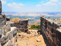 Клуб Павла Аксенова. Израиль. Галилея. View To Jordan Valley From Ruins Of The Crusader Fortress Belvoir In Lower Galilee, Israel. Фото George Kuna-Depositphotos