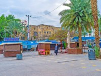 Клуб путешествий Павла Аксенова. Израиль. Тверия. The closed market next to the central embankment, Tiberias, Israel. Фото efesenko - Depositphotos