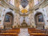 Италия. Сицилия. Катания. Church of San Giuliano in Catania, Sicily, southern Italy. Фото e55evu - Depositphotos