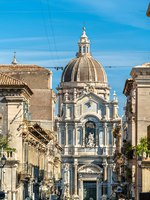 Италия. Сицилия. Катания. Metropolitan Cathedral of Saint Agatha in Catania - Sicily, Italy. Фото Leonid_Andronov - Depositphotos
