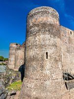 Италия. Сицилия. Катания. Castello Ursino, a medieval castle in Catania - Sicily, Southern Italy. Фото Leonid_Andronov - Depositphotos