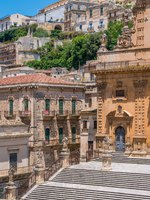 Италия. Сицилия. Модика. Cathedral of San Pietro (Saint Peter) in Modica. Sicily, southern Italy. Фото e55evu - Depositphotos