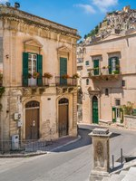 Италия. Сицилия. Модика. Scenic sight in Modica, famous baroque town in Sicily, southern Italy. Фото e55evu - Depositphotos
