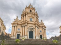 Италия. Сицилия. Рагуза. Duomo di San Giorgio, Church of St. George in Ragusa, Sicily. Italy. Фото pitrs10 - Depositphotos