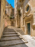 Италия. Сицилия. Рагуза. Scenic sight in Ragusa Ibla with the Church of Santa Maria dell'Itria. Sicily, southern Italy. Фото e55evu - Depositphotos