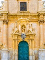 Италия. Сицилия. Рагуза. Cathedral of saint giovanni battista in Ragusa Sicily, Italy. Фото Dudlajzov - Depositphotos