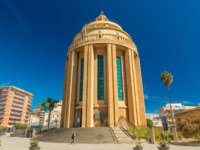 Италия. Сицилия. Сиракузы. Pantheon building (Chiesa di San Tommaso al Pantheon) and The Pantheon Square. Syracuse.  Sicily, Italy. Фото RS.photography-Deposit